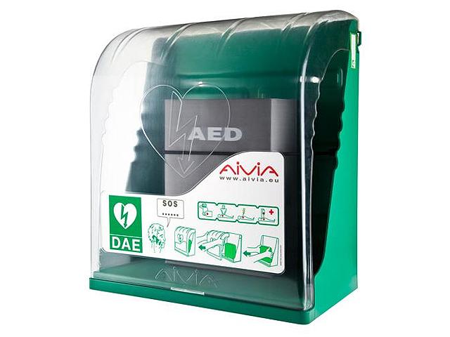 AIVIA S defibrillátor szekrény (Beltéri fali szekrény AED)