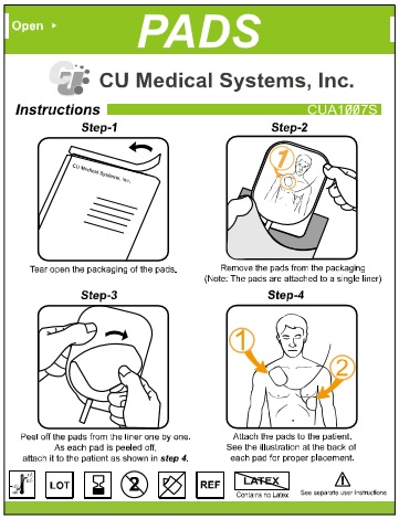 CU Medical i-PAD SP1 elektróda