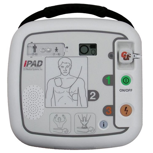 CU Medical iPAD SP1 félautomata defibrillátor