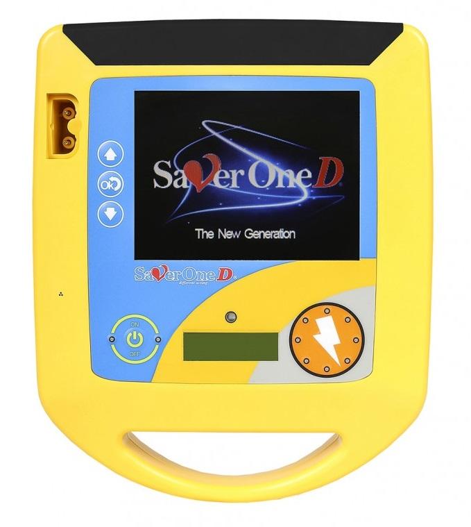 Saver One D (max:360J) ujratölthető akkumulátorral és töltővel ()