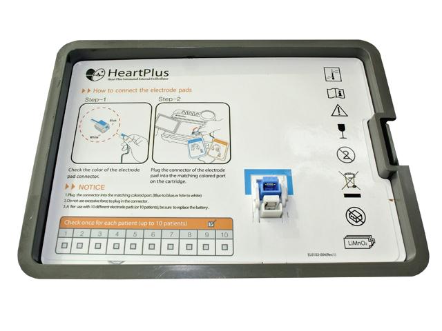 NanoomTech HeartPlus AED defibrillátor elem (5 év garanciával)