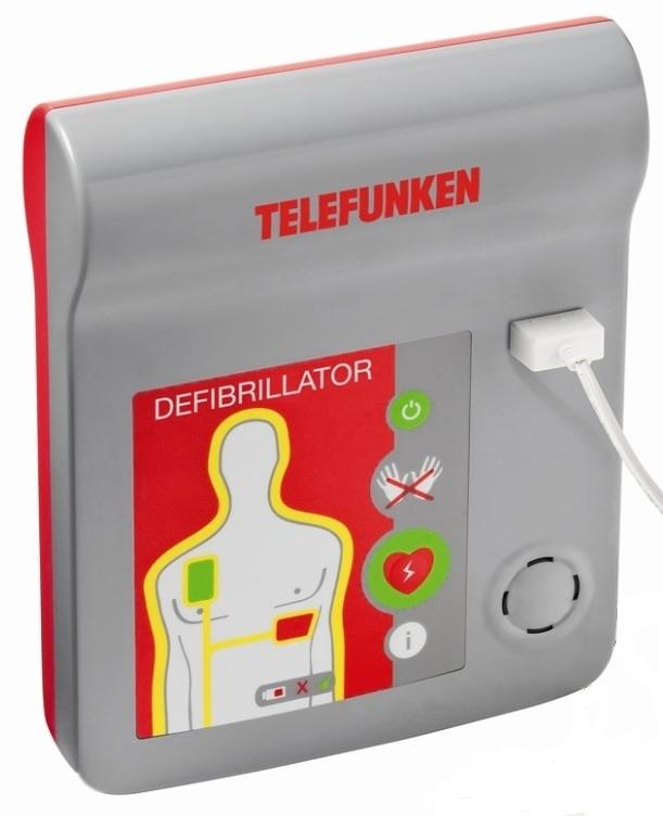 Bérelhető Telefunken HR1 AED