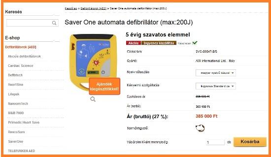 kosárba - www.defibrillatorok.hu
